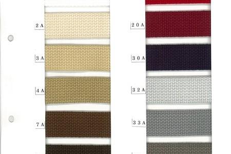 アクリルテープ石目・綾袋織り25mm~50mm